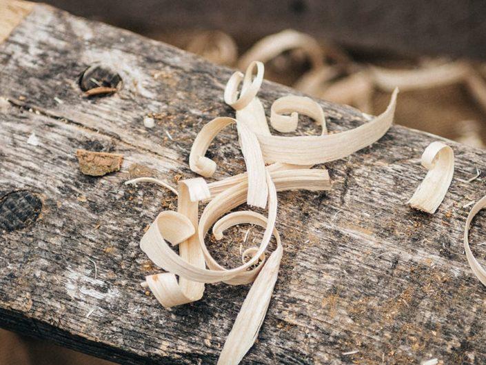 Corso di scultura di legno